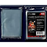 Ultra Pro 5 (Five) Pack Lot of 100 Soft Sleeves/Penny Sleeve for Baseball Cards & Other Sports Cards