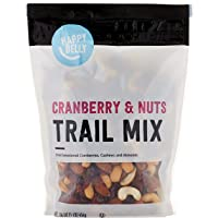 Amazon Brand - Happy Belly Cranberry & Nuts Trail Mix, 16 Ounce