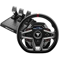 Thrustmaster T248 Racing Wheel (PS5, PS4, PC) Magnetic Pedals , HYBRID DRIVE, Magnetic Paddle Shifters, Dynamic Force…