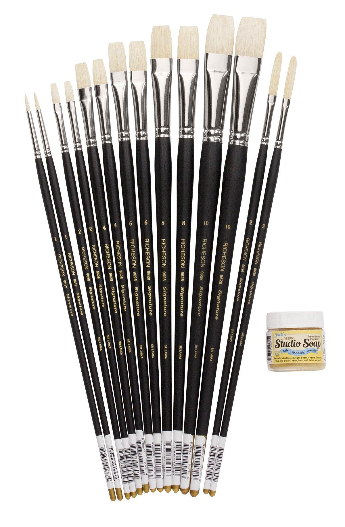 Joe Paquet JP001 Signature Oil Paint Brush Kit