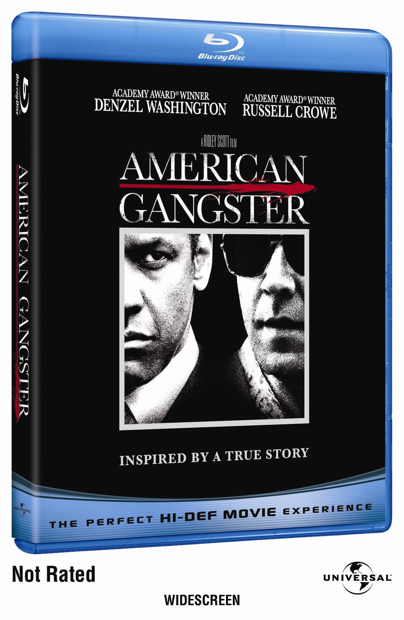 Blu-ray : American Gangster (Rated Version, Widescreen, , Dubbed, Dolby)