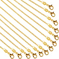 Healifty Jewelry Making Chain Roll Twisted Chains Metal for Necklace Jewelry Bag Replacement Making DIY Material Favors