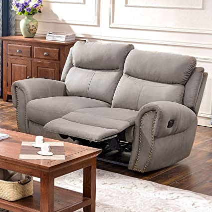 Amazon Com Harper Bright Designs Recliner Chairs Fabric Recliner