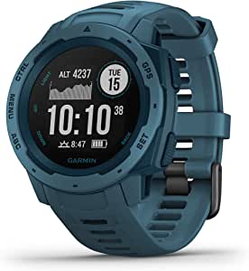 Garmin 010-02064-54 Instinct Outdoor GPS Smartwatch, Lakeside Blue