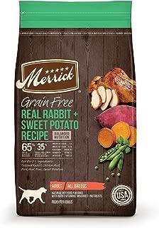 product image for Merrick Grain Free Dry Dog Food Real Venison & Sweet Potato Recipe