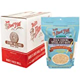 Bob's Red Mill Resealable Organic Quick Cooking Steel Cut Oats, 22 Ounce (Pack of 4)