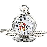 Disney Men's 56403-3477 Grumpy Pocket Watch