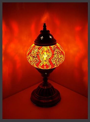 mosaico Proyección mosaico - Lámpara de mesa M Pie crean ...