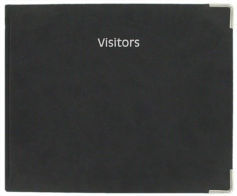 Letts Connoisseur - Registro dei visitatori, colore nero (lingua inglese) CYV