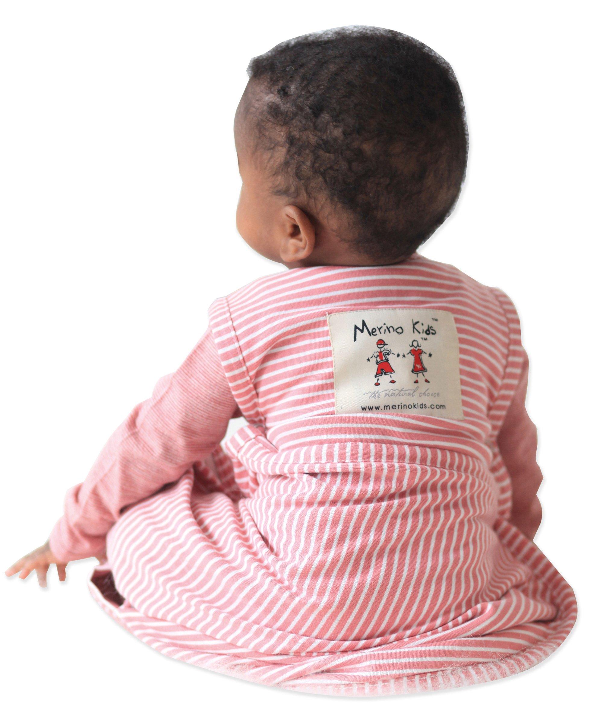 Merino Kids Baby Sleep Bag, Toddler 2-4 years, Raspberry