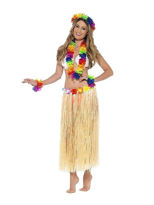 Hawaiano Arco Con 44592 Conjunto Y Iris Smiffy's GuirnaldaDiadema WDHI2E9