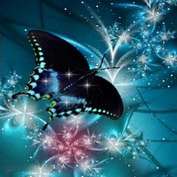 Blue Butterfly Dream Live Wallpaper
