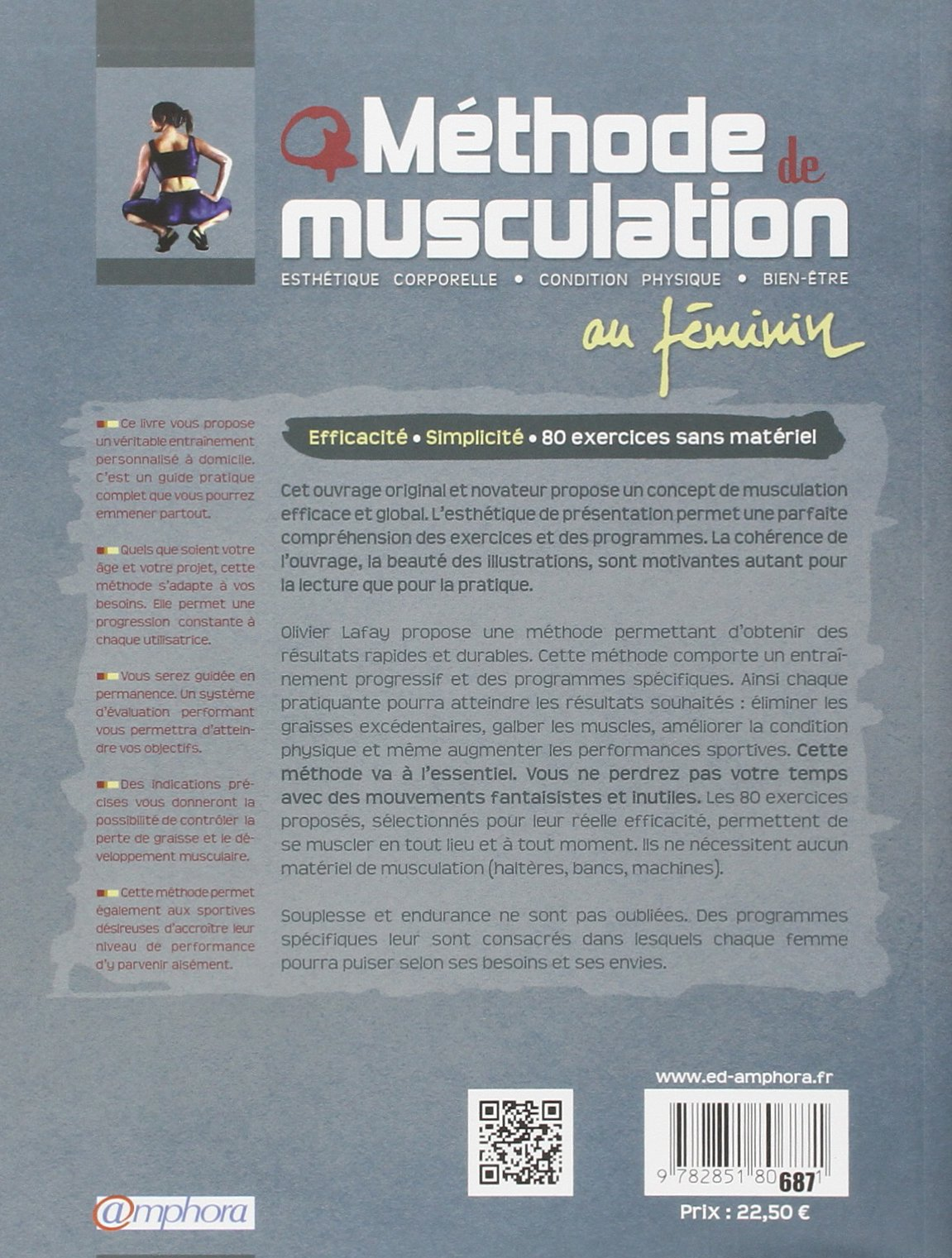 methode de musculation au feminin lafay