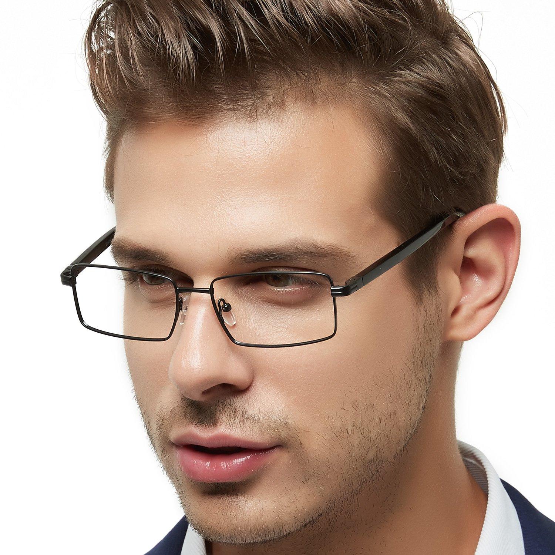 OCCI CHIARI Struttura di vetri ottici Occhiali senza ricetta Vintage Fashionable spring Hinge For Uomo