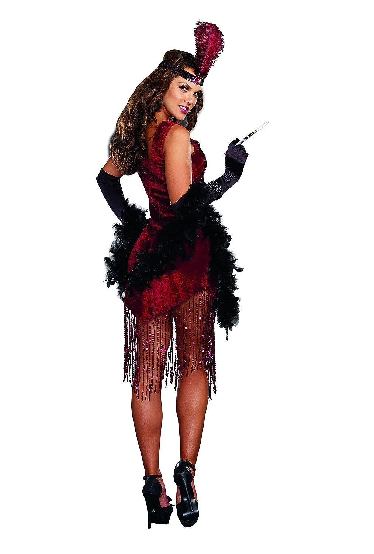 Amazon.com: Dreamgirl Women\'s Gatsby Girl 1920\'s Flapper Costume ...