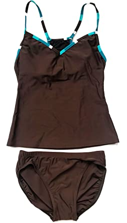591d4e1dc706b Image Unavailable. Image not available for. Color: Style & Co. Women's  Sport Tankini Swimsuit Set ...