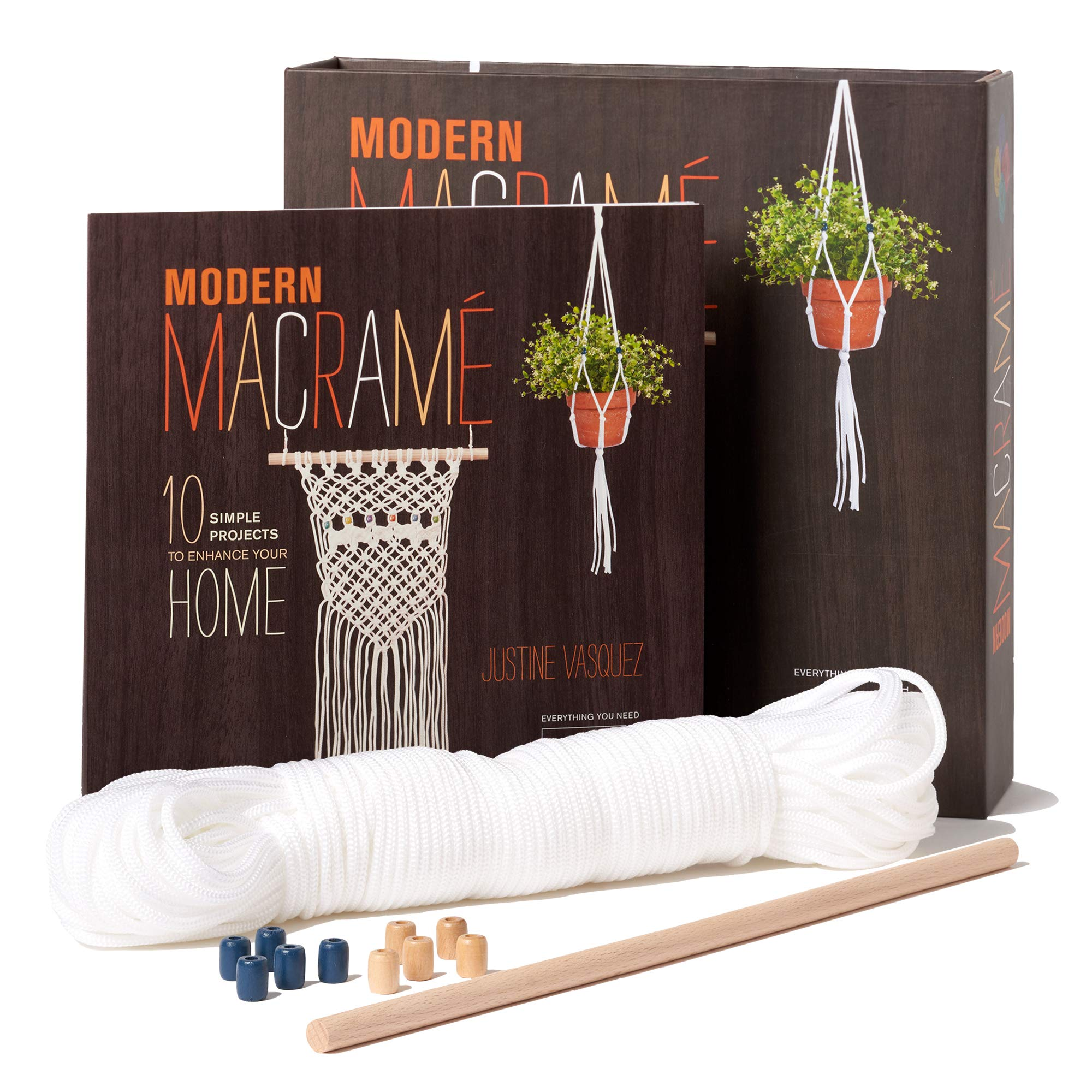 Modern Macrame: 10 Simple Projects to Enhance Your Home ...