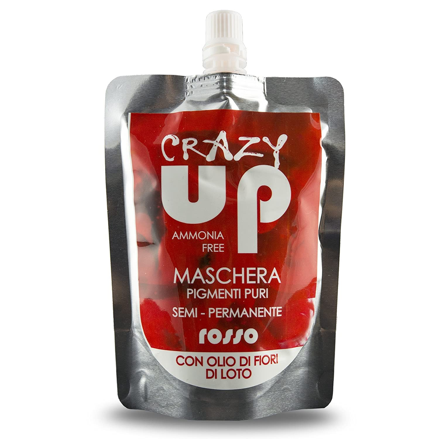 Crazy Up Maschere Capelli, Grigio - 300 g Pop Italy CRAZYUP02