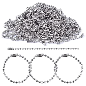Amazon.com: bonayuanda 150pcs 100 mm de largo Bead Conector ...