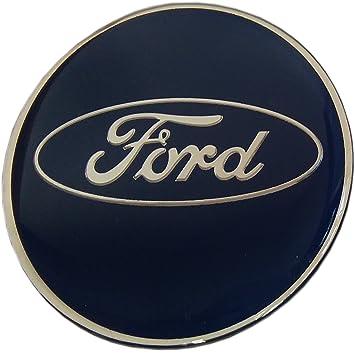 4 pegatinas embellecedoras para llantas de aleación de resina epoxy con el logotipo de Ford, de 65 mm y gran calidad: Amazon.es: Coche y moto
