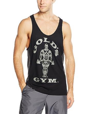 Golds Gym Muscle Joe Tonal Panel Stringer Vest, Camiseta de Tirantes para Hombre: Amazon.es: Ropa y accesorios