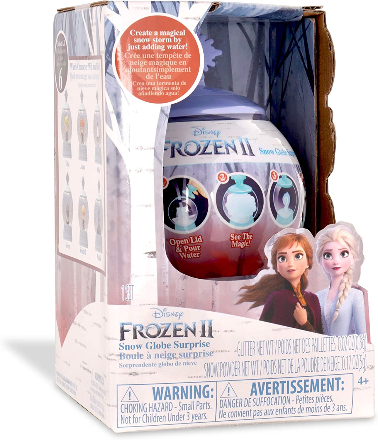 Multicolore 31300 Basic Fun! Disney La Reine des Neiges 2 Boule