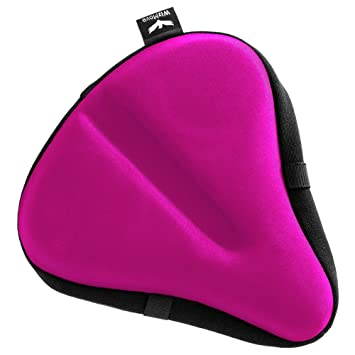 wizmove Large Bike Seat Cover | Premium Wide Gel Bicycle Saddle ...