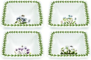 Portmeirion Botanic Garden Square Bowl, Mini, Set of 4