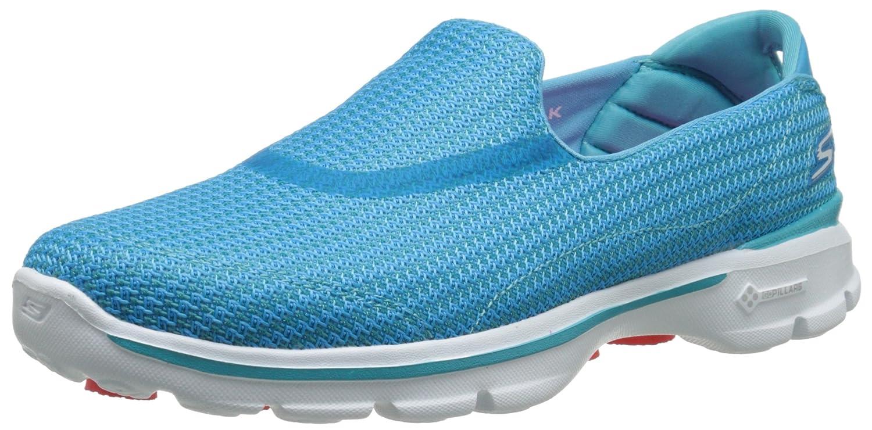 Skechers Performance Women's Go Walk 3 Slip-On Walking Shoe 8.5 B(M) US|Turquoise
