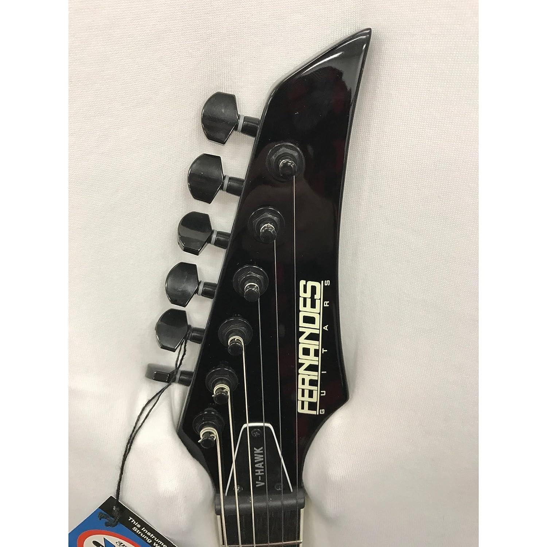 Fernandes v-hawk Deluxe Guitarra Eléctrica EMG 81/85 - negro: Amazon.es: Instrumentos musicales