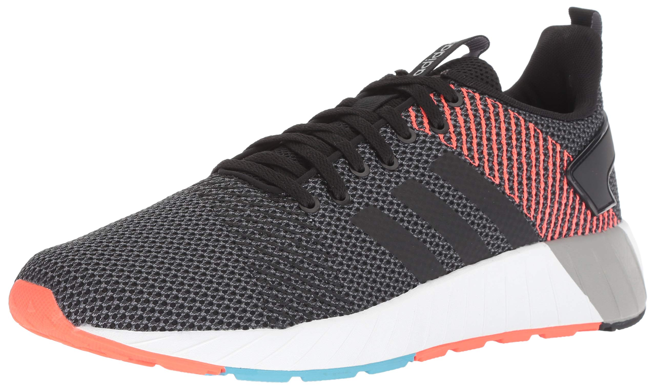 adidas Men's Questar BYD Running Shoe Black/Carbon, 6.5 M US by adidas (Image #1)