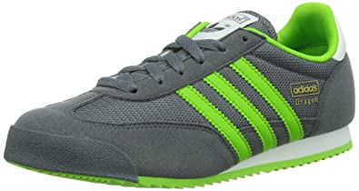adidas Originals Dragon J, Boys Running Shoes, Grey (OnixSemi Solar Green