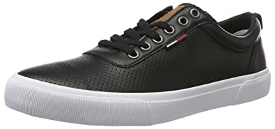 Mens V2385ic 1d Low-Top Sneakers, Dark Blue, 8 UK Tommy Hilfiger