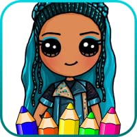 Coloring Game: Descendants Coloring Book
