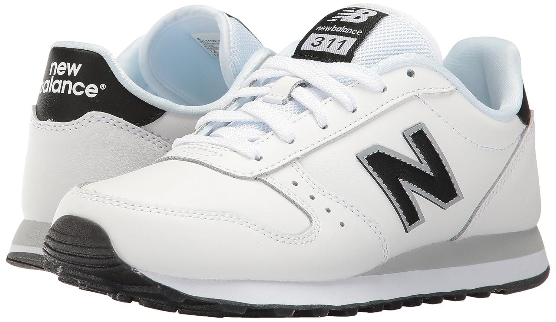 New Balance Women's 311 Lifestyle Fashion Sneaker B01M0XL7CS 9 B(M) US|White/Black