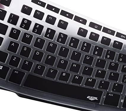 Keyboard Cover for Logitech MK270 Wireless Keyboard, Logitech K200 MK200  K260 MK260 K270 Keyboard, Protect Your Keyboard from Liquid Spills or Dust