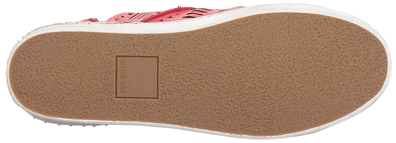 Dolce Vita Women's B(M) Zeus Strappy Sandal B071G2B532 9.5 B(M) Women's US|Red Leather a6b685