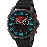 Diesel On Men's Full Guard 2.5 Smartwatch Powered with Wear OS by Google with Heart Rate, GPS, NFC, and Smartphone Notificati