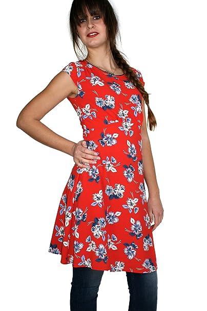 Kocca abito donna LALLA variante F7028 colore Rosso Collezione   Primavera Estate 2018  Amazon.it  Abbigliamento 73e3d559c4f
