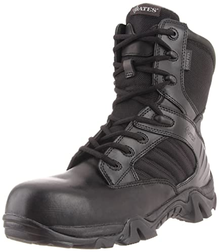 Mens Bates Men's 8 Inch GTX Ultra Lites Comp Uniform Work Boot Online Size 42