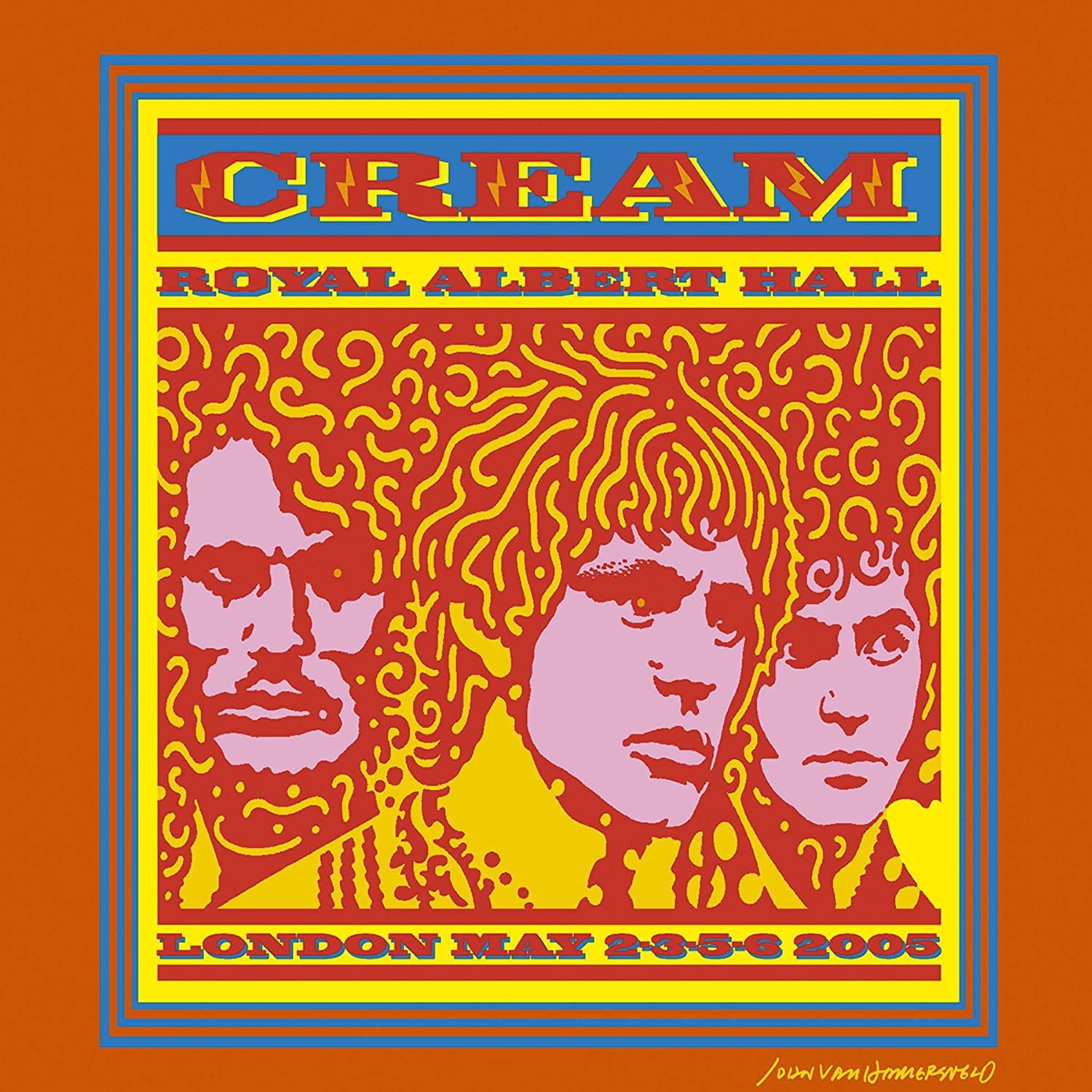 Image result for cream live at the royal albert hall