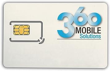 360 móvil SIM, Primeros 12 Meses de prepago: Amazon.es ...