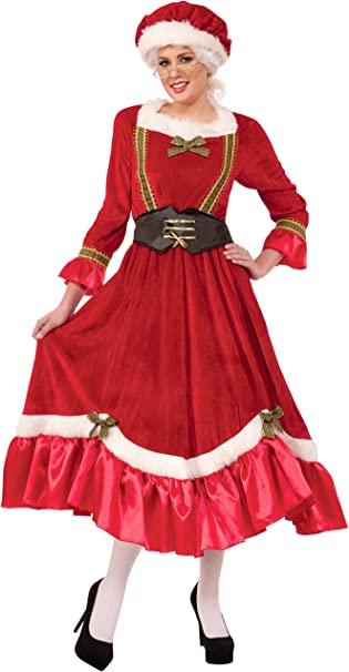Amazon.com: Forum Novelties Womens Mrs. Santa Claus Costume ...