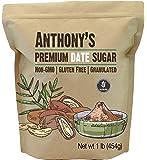 Anthony's Date Sugar, 1 lb, Gluten Free, Non GMO, Vegan, Granulated