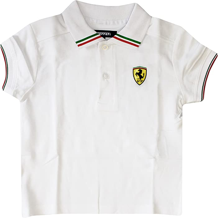 Amazon.com  Ferrari Kids Italia Polo Shirt (2 Year a9abded6a40b