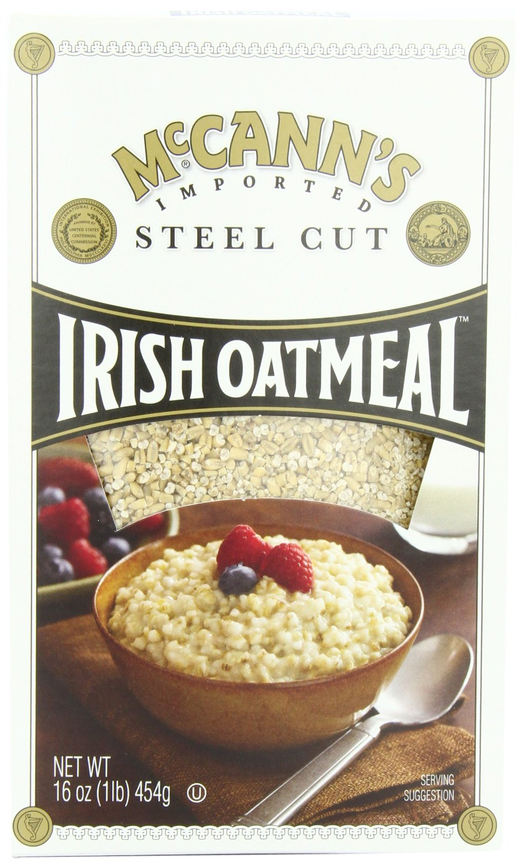 McCANN'S Steel Cut Irish Oatmeal, 16-Ounce Boxes (Pack of 6) by McCann's (Image #1)
