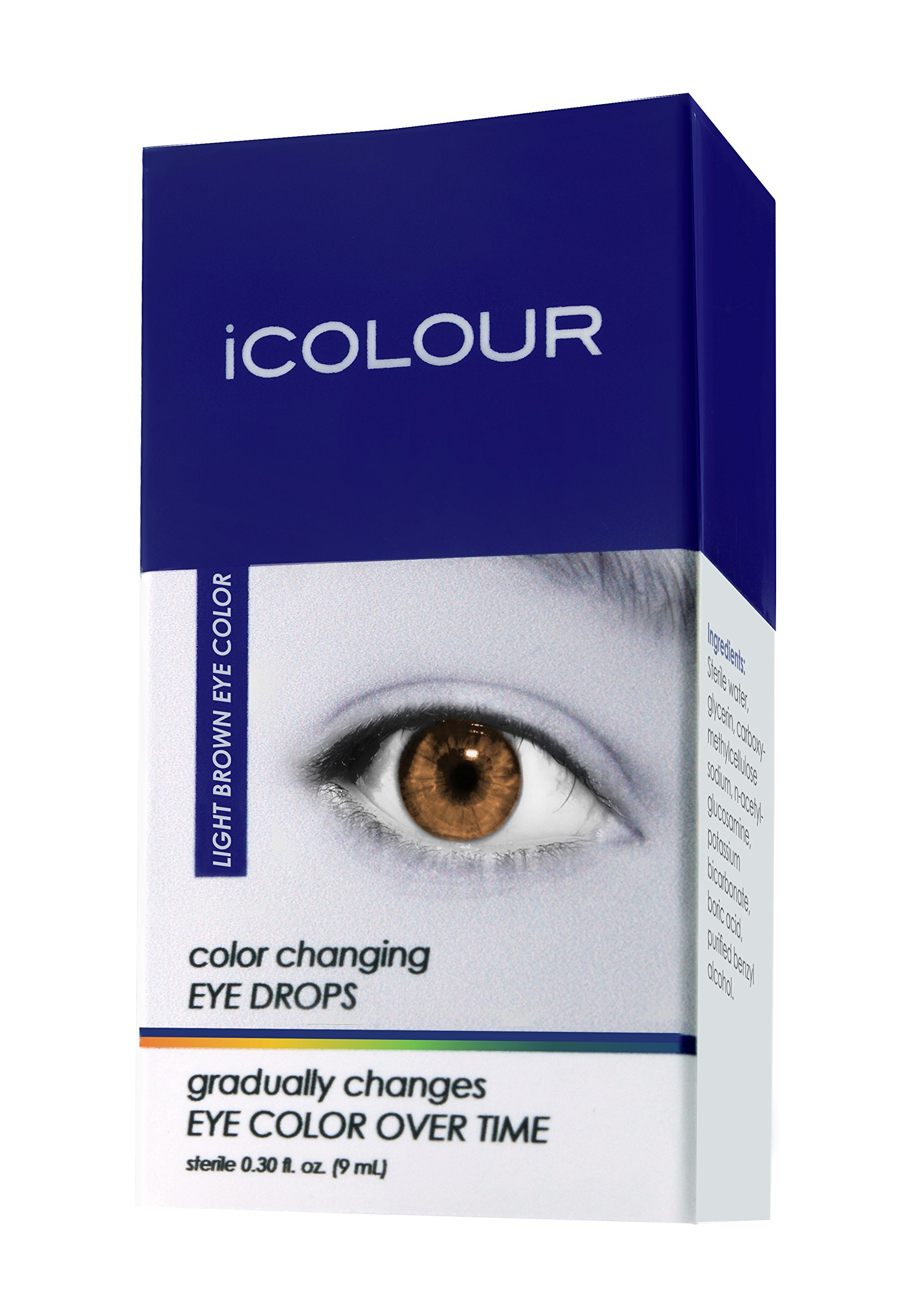 Icolour Color Changing Eye Drops Change Your Yellow Glass Avatar Eyeball Sterling Silver Wire Wrapped Ring Any Naturally 1 Month Supply