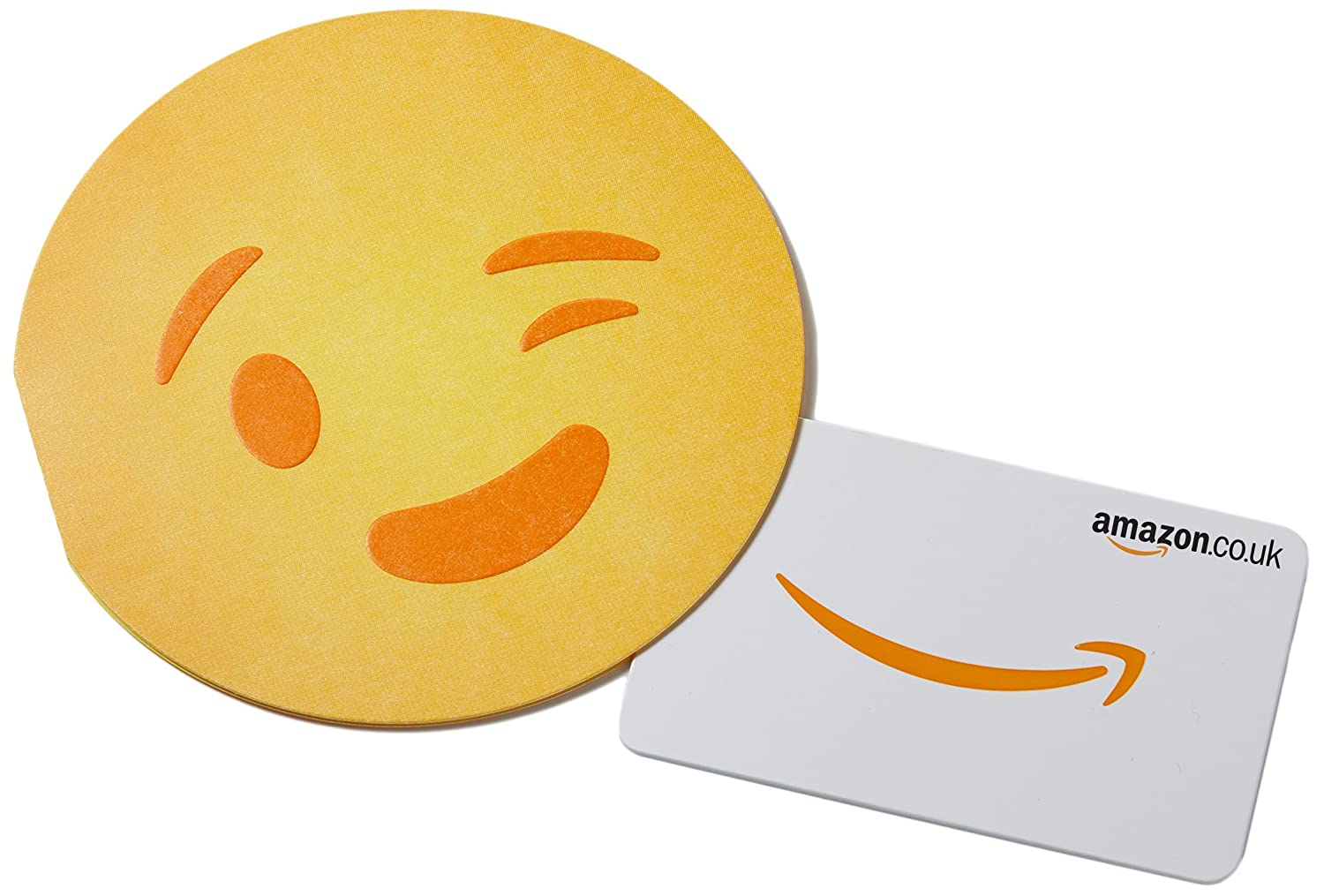Amazon.co.uk Gift Card in a Wink Emoji Sleeve Amazon EU S.à.r.l. Fixed