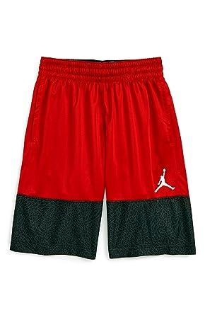 401444ea969 NIKE Jordan Air Youth Boys Wings Block Out Basketball Shorts Size M, L, XL