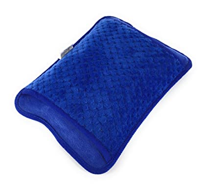 Bolsa agua caliente electrica azul recargable dolor muscular ...